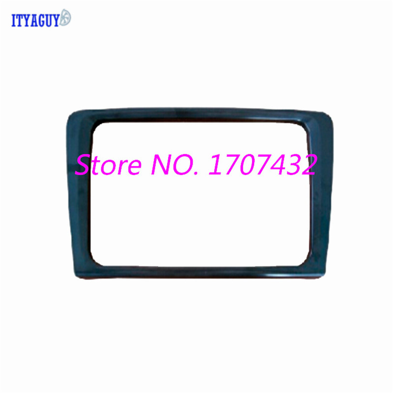 Free shipping Frame Trim Fascia for Skoda Rapid Spaceback 2014 Car DVD CD font b Radio