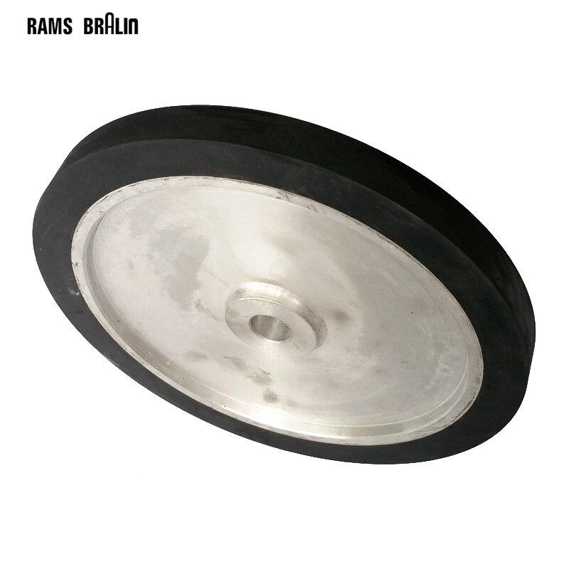 300*25*25 мм твердые резиновые ремень Точильщик контакта колесо шлифовальных лент комплект
