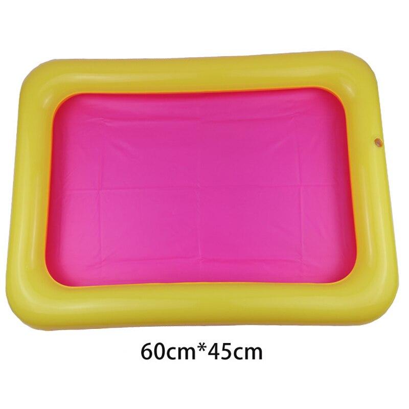 Indoor Magie Spelen Zand Kinderen Speelgoed Mars Ruimte Opblaasbare Zand Lade Zwembad Accessoires Plastic Mobiele Tafel Verlichten Van Reuma En Verkoudheid