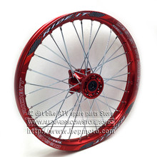 1,60x17 дюймов передние диски с ЧПУ ступица колеса из алюминиевого сплава 1,60x17 дюймов для KLX CRF KTM Kayo Apollo BSE Pit Dit велосипедные шины