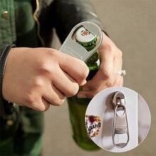 Moda Personalidad Creativa Diversión Cremallera Cabeza de Forma de la Botella de Cerveza Abridor de Imán