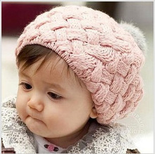 baby hat kids baby photo props beanie faux rabbit fur gorros bebes crochet beanie toddler cap for 4 months-3 years old girl