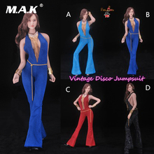 NEW in stock Feeltoys FT010 Girls Desperado 1/6 Vintage Disco Coveralls Cloth For 12