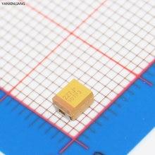 B 3528 220 uF 6.3 V kondensator tantalowy SMD TAJB227M004RNJ