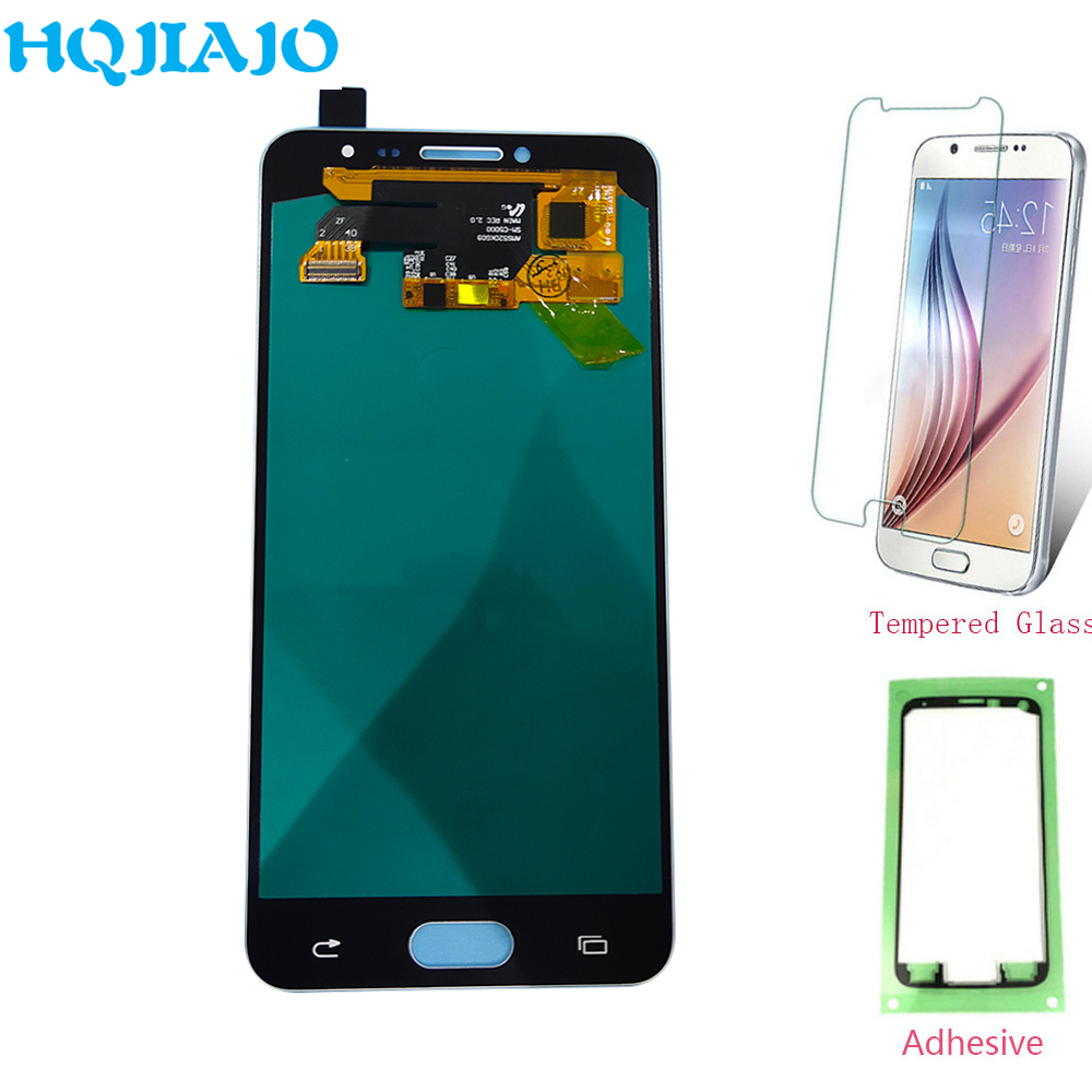 0e01202574a99d Super Amoled LCDs For Samsung C5 C5000 LCD Display Assembly Touch Screen  Digitizer For Samsung Galaxy C5 C5000 Replacement
