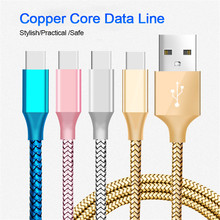 1M/2M/3/M USB Type-C Cable Quick Charge USB C Type C Cable 2.5A Fast Charging Data Cord for Power Bank Mobile Phone Cables 1m 2m usb c usb 3 1 type c male to female extension data cable usb type c for laptop