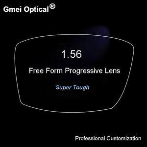 Image 5 - 1.56 超タフなデジタルフリーフォームプログレッシブ無ライン多焦点処方とカスタマイズされた光レンズarコーティング 2 個