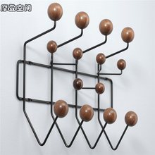 цены Wall Decor/hang it all/clothes rack/wall hanger/coat hanger/ hook/wholesale price/American walnut/Hot/free shipping