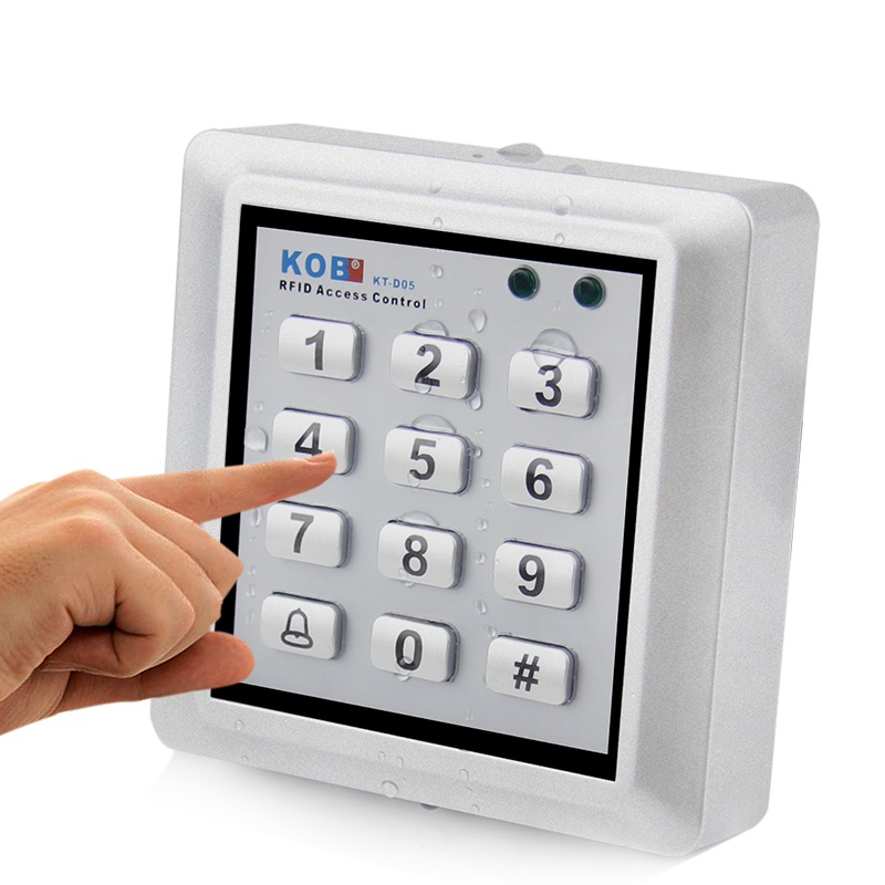 Access Control Proximity RFID Card Reader Wiegand 26/34 /ID/IC Reader&ABS Shell Waterproof Access Control System +10 pcs cards led indicators ip65 waterproof wiegand 26 34 door access control reader 125khz or 13 56mhz rfid reader proximity reader kr100