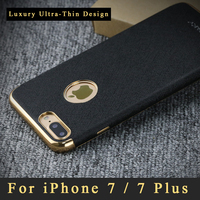 Original Ipaky Brand Full Protection Leather Case For IPhone 7 Case For IPhone 7 Plus Luxury