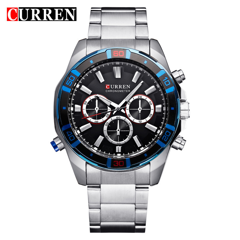 curren watch watches men quartz-watch relogio masculino relojes hombre sports  Analog Casual 8184 nabu watch