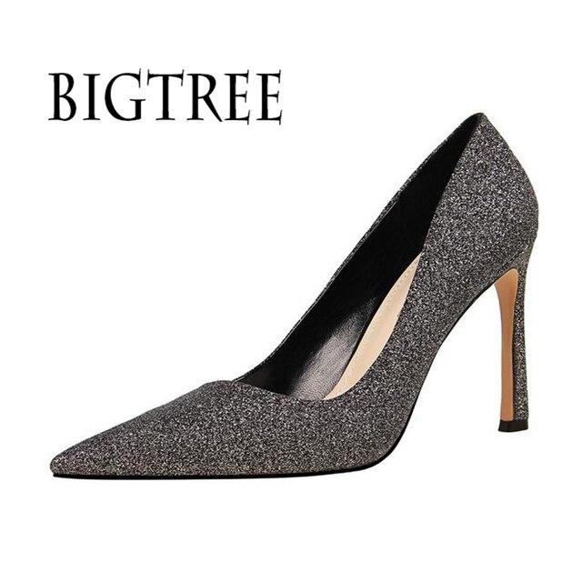 2018 European women s shoes with super high heel d2ef3ccb3c95