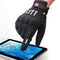 Nueva knight montar guantes llenos del dedo guantes de moto de la motocicleta 3d pantalla táctil moto reflectante engranajes motocross guante caliente
