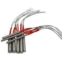12x50/60/80/100/120/150/200/250/300 мм Нагревательный элемент пресс-форма проводной патронный нагреватель AC 220V производства электроэнергии