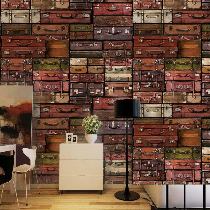 Popular wallpaper bookshelf buy cheap wallpaper bookshelf for Bookshelf mural wallpaper