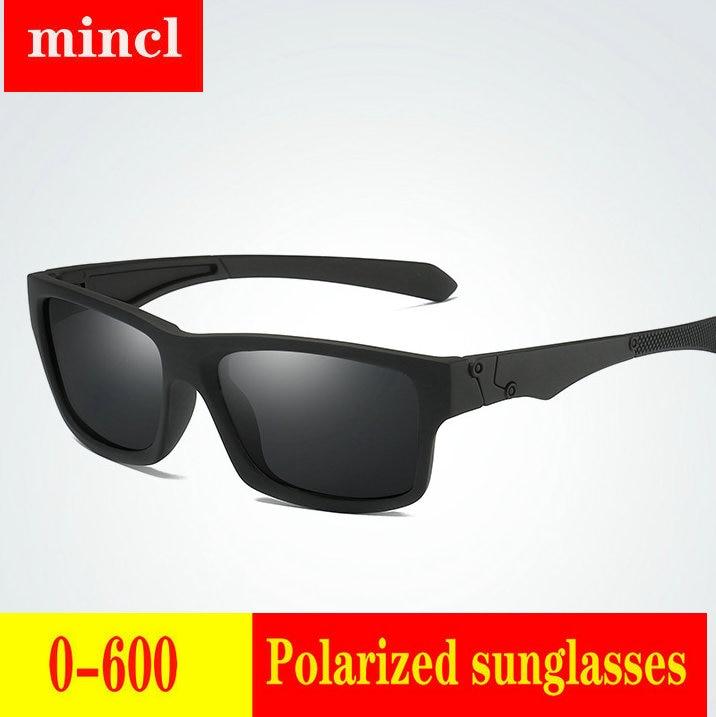 2019 Diopter men women Custom Made Myopia Minus Prescription Polarized LensRetro squar esunglasses men Driving goggles UV FML 20