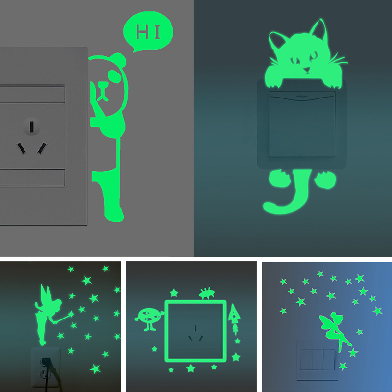 DIY Funny Cute Switch Stickers Wall Stickers For kids ...