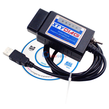 100% PIC18F25K80 Chip ELM327 V1.5 USB Switch ELM 327 CAN /MS CAN For Forscan OBD2 Diagnostic Scanner Free Shipping 1