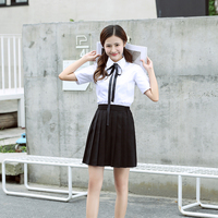 Female school uniforms set new fashion school wind suit high school male students uniform skirt skirt suits couple