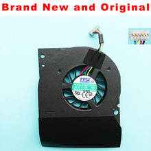 Вентилятор процессора для AVC BAAA0508R5H P003 DC5V 0.5A 4 линии ноутбук графическая система охлаждающий вентилятор кулер
