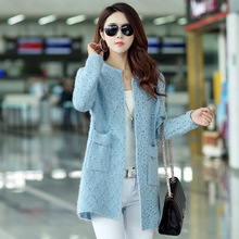 2016 spring winter Korean coat female font b women s b font sweaters font b cardigans