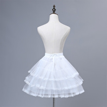 Flower Girls Underskirt Cosplay Party Short Dress Petticoat Lolita Ballet Tutu Skirt Rockabilly Crinoline