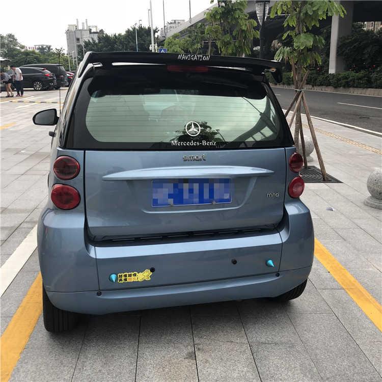 Для Smart fortwo 453 Спойлер ABS Материал заднего крыла первоклассника Цвет задний спойлер для Benz Smart fortwo 453 спойлер