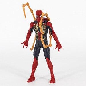 Image 2 - Avengers Endgame Infinity 4 figurines daction jouets Iron Man Thor Hulk Thanos capitaine docteur étrange poupée de collection pour les enfants