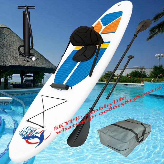 10 FT HydroForce SUP Bestway White Cap Inflatable Stand Up surfboard  Drop-stitch Inflatable Paddle Board Kayak 3b806d1a0d