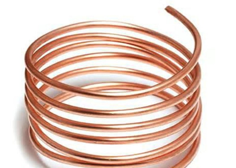 T2 Copper Tube,Outer Diameter 14 Mm 1 Mm Wall Thickness Length 1M,Refrigeration Capillary Pipe Tubing Coil