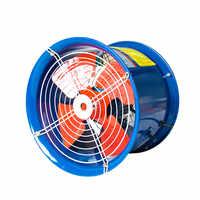 220 v 370 w tipo di Tubo SF3-2 Industriale Assiale Ventilatore Ventilatore Officina Extractor Fan