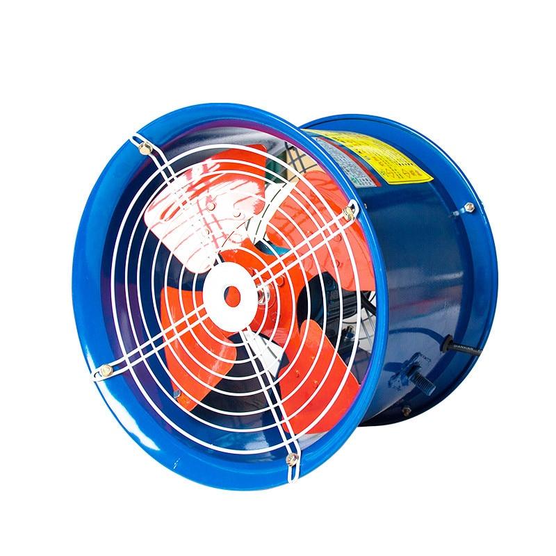 220v 370W Pipe type SF3-2 Industrial Axial Ventilator Blower Workshop Extractor Fan