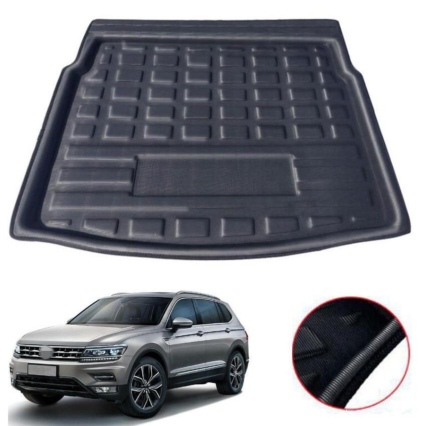 For VW Tiguan L 5 Seats 2016 2017 2018 Car Cargo Liner Car Floor Mats Trunk Luggage Protection Carpet Interior Accessories