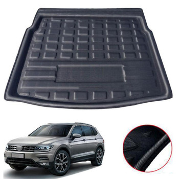 For VW Tiguan L 5 Seats 2016 2017 2018 Car Cargo Liner Car Floor Mats Trunk Luggage Protection Carpet Interior Accessories for lada largus 2012 2018 trunk mat floor rugs non slip polyurethane dirt protection interior trunk car styling
