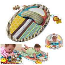 Children Learning & education Mats for 0-3years, Baby Playy pad Colorful Circus Activity Toy Game Blanket Nappy Pad 87*56cm
