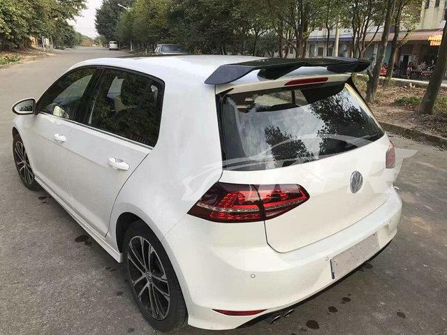 car styling mk7 golf vii 7 gti revo style carbon fiber. Black Bedroom Furniture Sets. Home Design Ideas