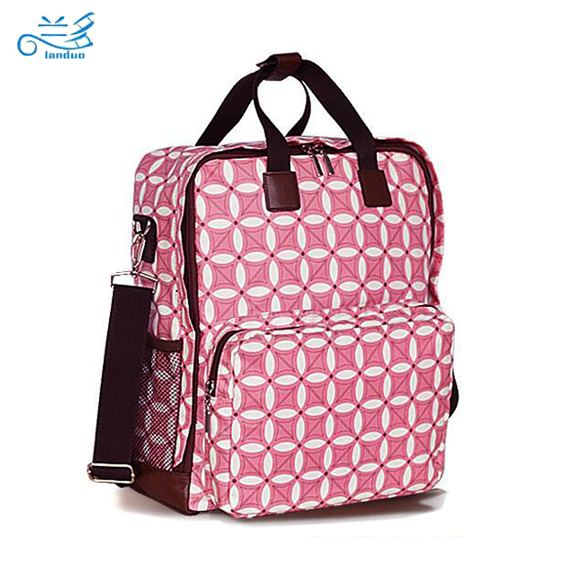 Landuo baby diaper bags baby nappy bag Backpack Handbag nappy bags  diapering messenger bags tote bolsa maternidade -in Diaper Bags from Mother    Kids on ... 3d8a8e09ff1