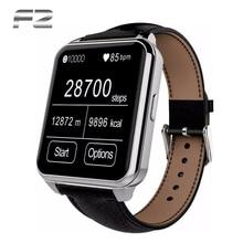 2015 NEUE Bluetooth Smart Uhr F2 IP66 Wasserdicht IPS Bildschirm smartwatch für apple iphone android samsung sony LG HTC handy
