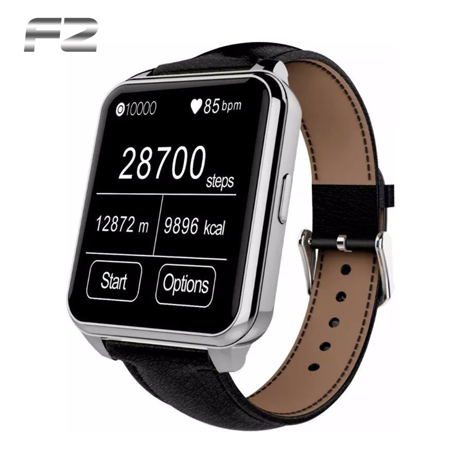 2015 NEW Bluetooth Smart Watch F2 IP66 Waterproof IPS Screen smartwatch for apple iphone android samsung sony LG HTC phone