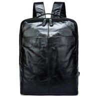 Пояса из натуральной кожи для мужчин рюкзаки для человека походный рюкзак для ноутбука Мода человек рюкзак бизнес коровьей кожи Back Pack