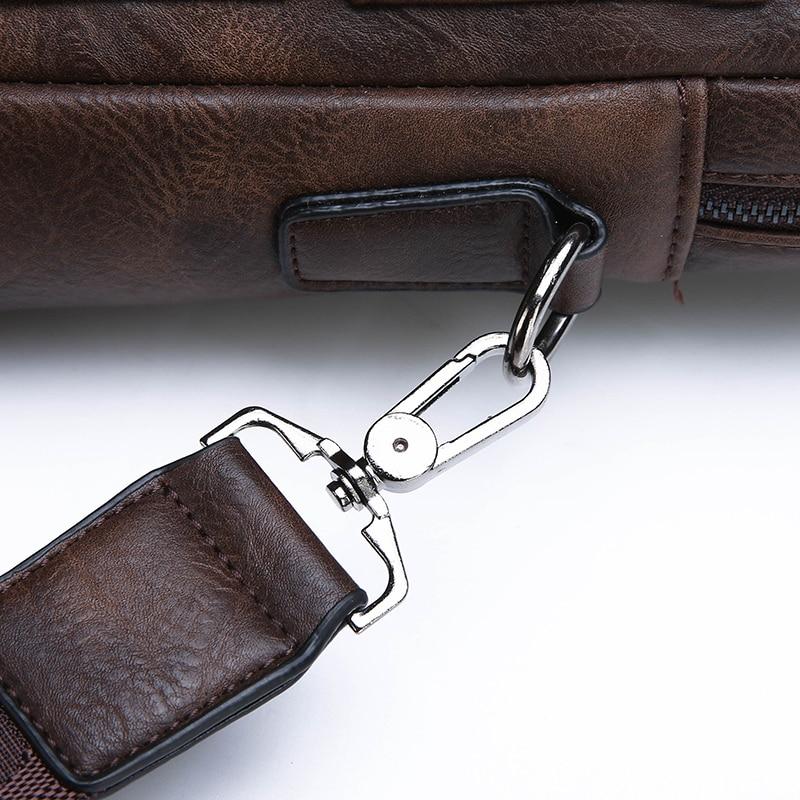 HTB15jsAeMaH3KVjSZFjq6AFWpXaG New Men Briefcase Bags Business Leather Bag Shoulder Messenger Bags Work Handbag 14 Inch Laptop Bag Bolso Hombre Bolsa Masculina