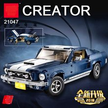 Lepining 21047 Creator Expert Ford Mustang Compatible Legoing 10265 Set Building Blocks Bricks Assembled DIY Toys Birthday Gifts(China)