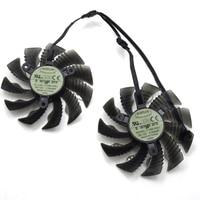 New T129215SU 87mm Cooler Fan For Gigabyte GTX 1060 GTX 1050 TI RX 580 RX480 R9