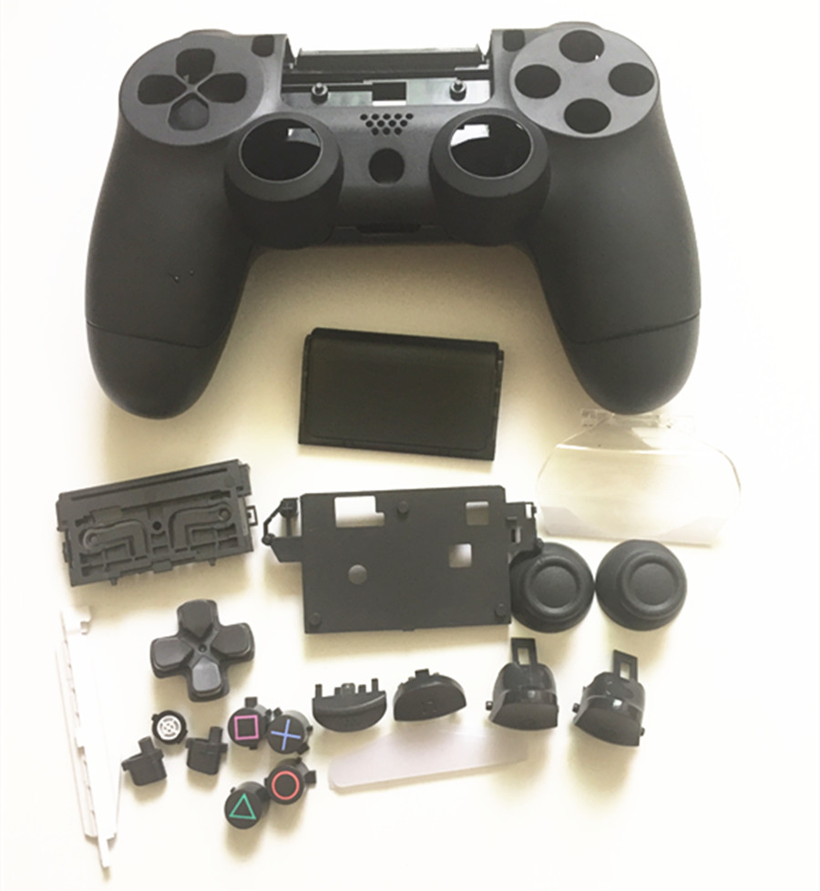 Replacement Housing Shell <font><b>Case</b></font> for Sony <font><b>PS4</b></font> Pro 4.0 Wireless V2 Controller JDS040 <font><b>Mod</b></font> Kit Cover for Dualshock 4 Pro Controller image