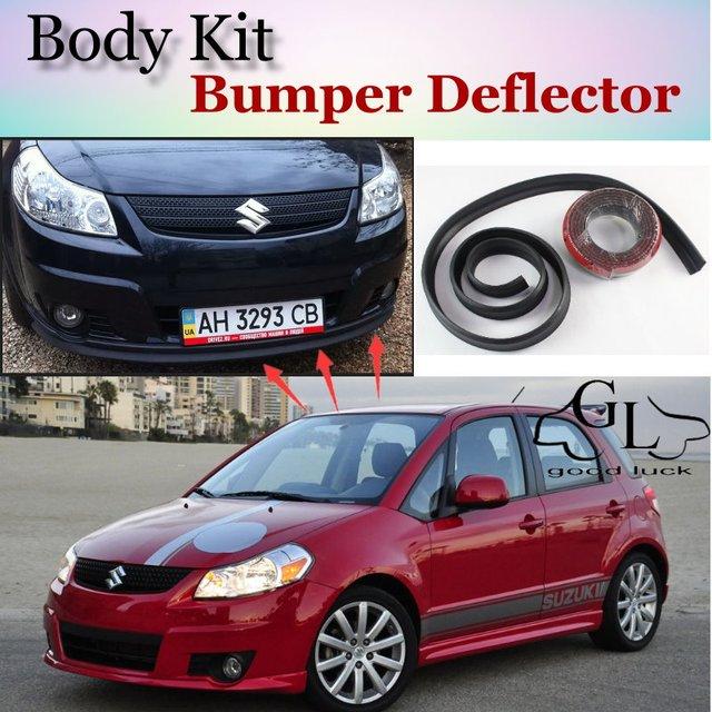 Bumper Lip Deflector Lips For Suzuki SX4 SX 4 SX 4 Neo
