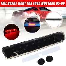 Автомобильный светодиодный 3-й тормозной фонарь стоп-лампа Красного дыма для Ford/Mustang 2005 2006 2007 2008 2009