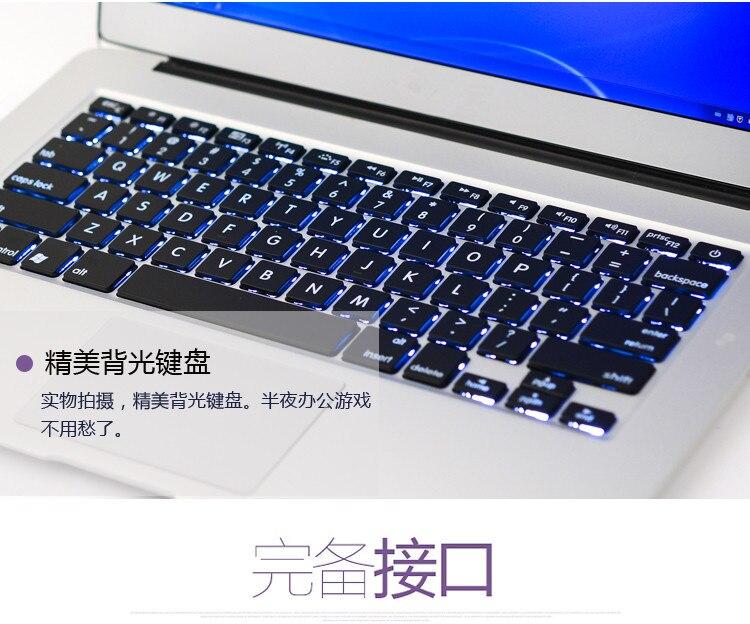 13 3 inch 8Gb 128gb Wifi Bluetooth Ultraslim gaming Laptop Notebook Computer dual core I5 cpu