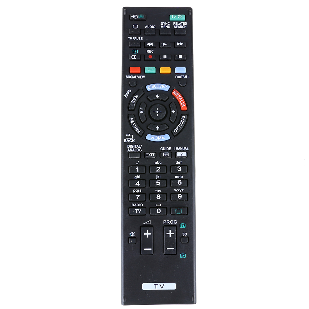 Universal TV Remote Control Replacement Television Remote Control Unit Black for SONY RM-ED058 RMED058 TV ...