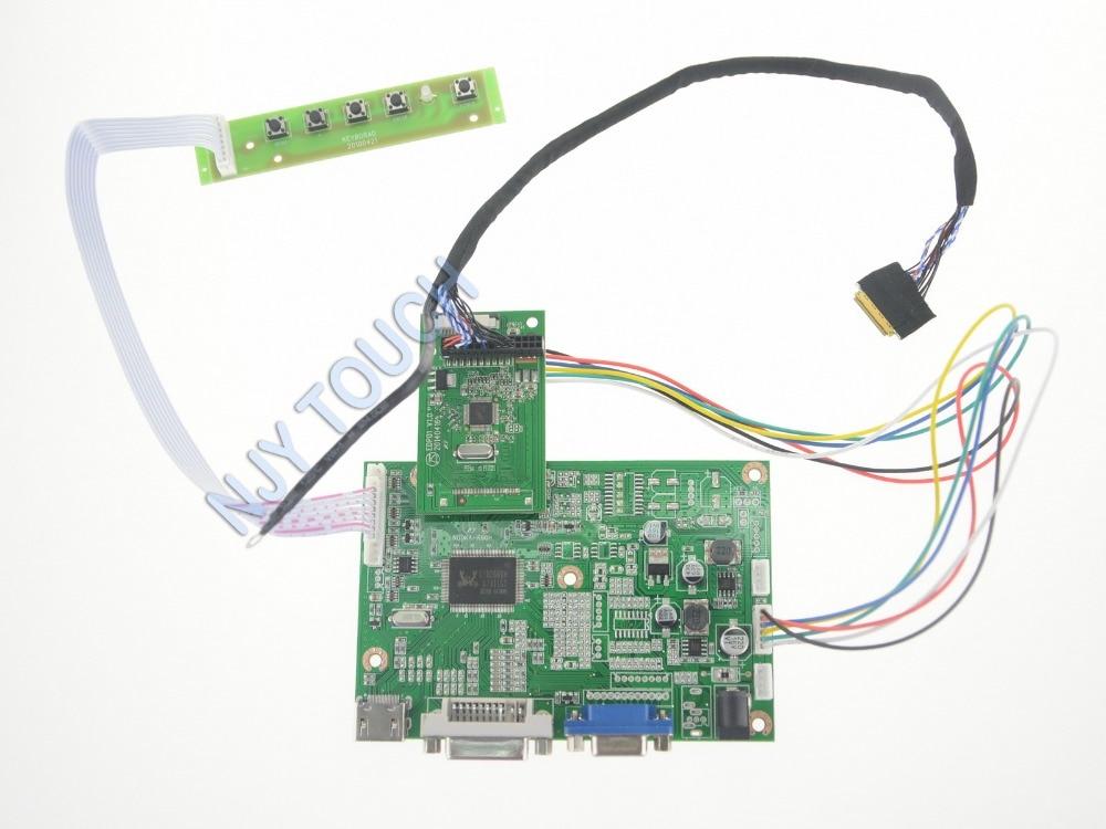 VGA LCD Controller Board LP156WF6-SPB1 LP156WF6 LP140WF3 LP140WF1 Y50-70 Y510P Y700-15 Y50PC IPS LCD eDP WLED 1920x1080