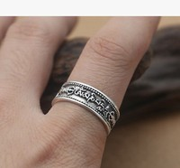 Ring Men Black Ring Silver 925 Jewelry Mens Tungsten Ring
